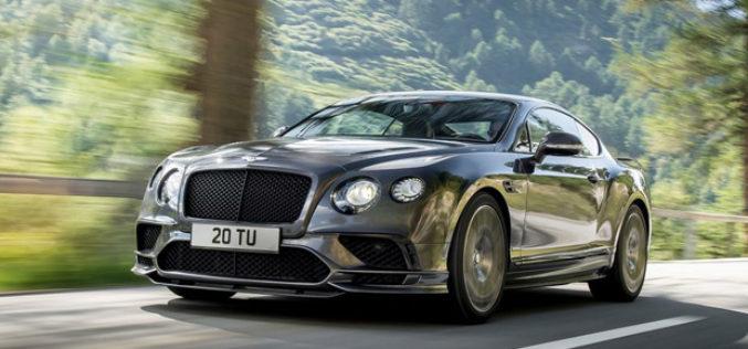 Bentley Continental Supersports – Najbrži četverosjed na svijetu
