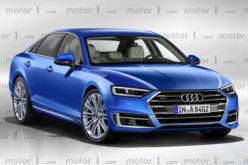 Prve slike novog Audi A8 koji stiže krajem 2017. godine