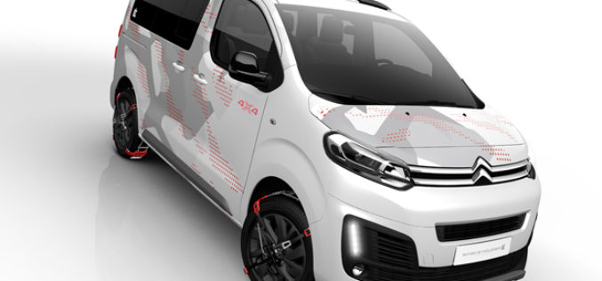 Citroën Spacetourer 4×4 Ë concept: Doživjeti avanturu u slogu