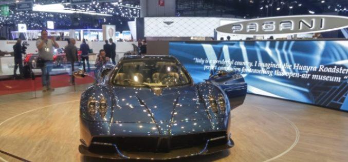 Pagani predstavio Huayra Roadster model