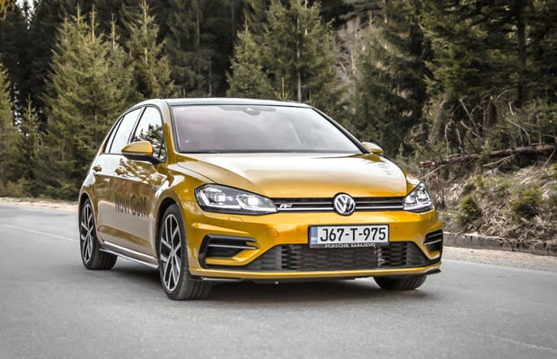 test volkswagen golf vii facelift 2 0 tdi dsg r line. Black Bedroom Furniture Sets. Home Design Ideas