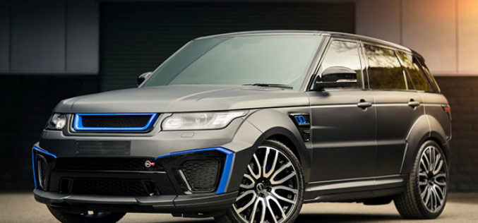 Project Kahn Range Rover Sport 5.0 V8 Supercharged SVR Pace Car