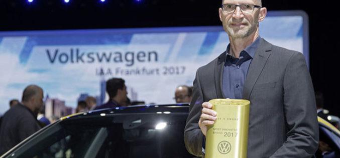 """Volkswagen je """"Najinovativnija marka 2017. godine"""""""