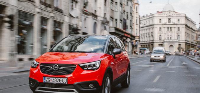Vozili smo: Novi Opel Crossland X – Pregršt stila u gradskoj vožnji uz kul izgled SUV-a