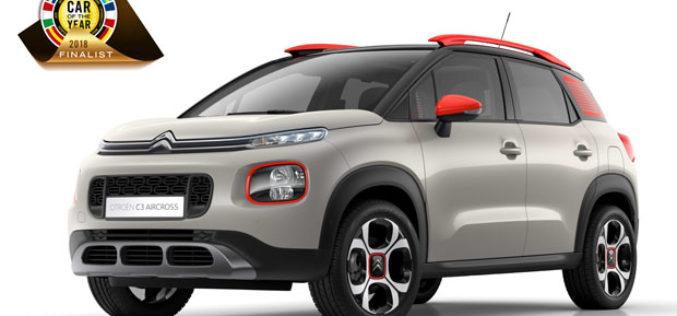 "Citroën C3 Aircross finalist izbora ""Automobil godine 2018"""