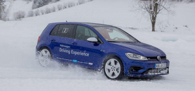Volkswagen Winter Driving Experience 2018: Vatromet na ledu!