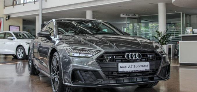 U BiH predstavljen novi A7 i redizajnirani Audi salon Porsche Sarajevo