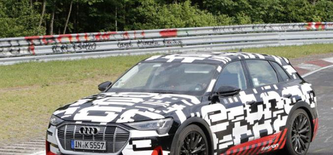 Audi obavlja posljednje testove E-Tron SUV-a