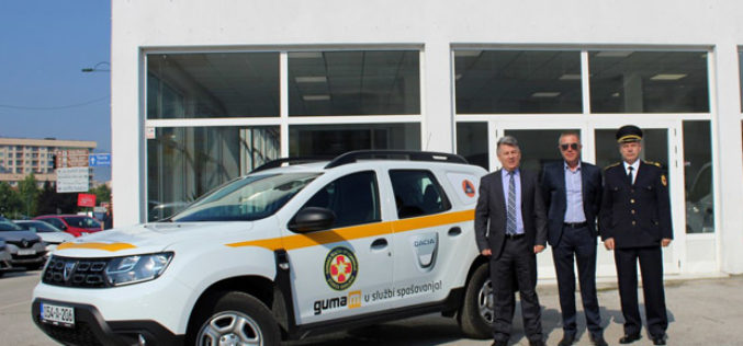 Dacia Duster ponosni partner GSS-a i Profesionalne vatrogasne jedinice
