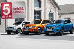 Petogodišnja garancija za Nissan automobile