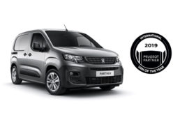 Novi PEUGEOT PARTNER: International Van Of The Year 2019.