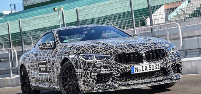 BMW priprema M8 Competition model sa 650 KS