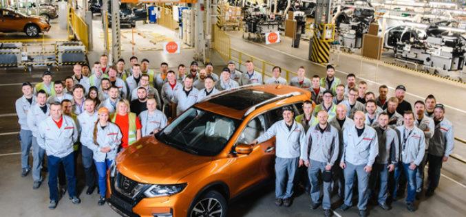 Počela proizvodnja Nissan X-Traila u  St. Petersburgu