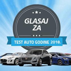 Izbor Test auto godine 2018.