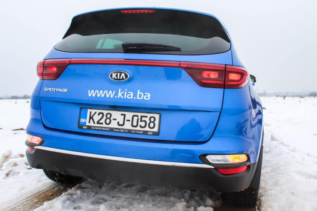 Kia Sportage Facelift 2019.