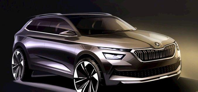 Nova Škoda Kamiq otkrivena kroz prvi crtež