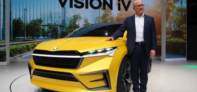Škoda u Ženevi predstavila Vision iV koncept