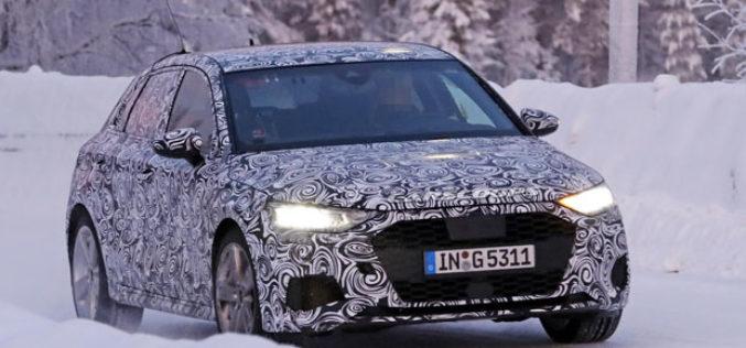 Novi Audi S3 na finalnim testiranjima uoči premijere!