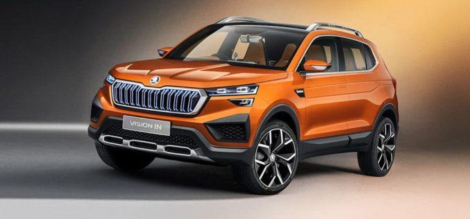 Škoda Vision IN koncept novi crossover za Indiju