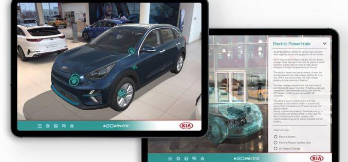 Aplikacija 'Go Electric' sa obogaćenom stvarnošću za lakše upoznavanje električnih vozila Kia