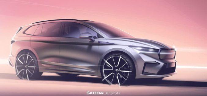ŠKODA otkrila skice električnog ENYAQ iV SUV-a
