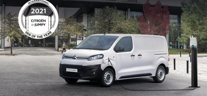 "CITROËN ë-Jumpy nagrađen titulom ""International Van Of The Year 2021"""