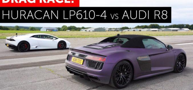 Bitka V10 motora: Audi R8 Spyder vs Lamborghini Huracan