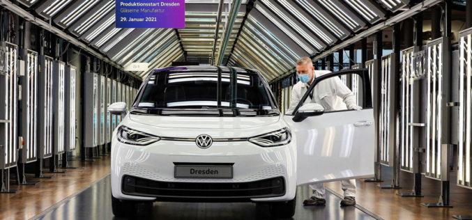 """Volkswagen ID.3 počeo se proizvoditi u """"staklenoj"""" tvornici"""