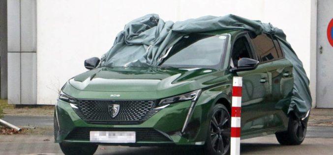 Novi Peugeot 308 slučajno otkriven tokom testiranja