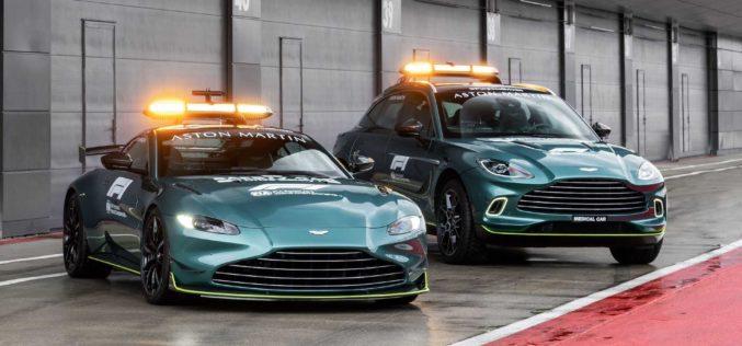 Aston Martin Vantage novi je sigurnosni automobil Formule 1