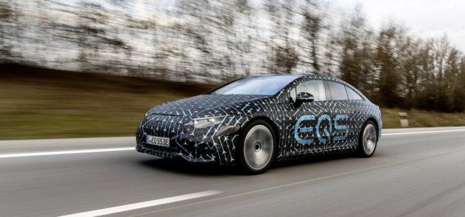 Mercedes-Benz EQS: Novi detalji o vodećoj električnoj limuzini