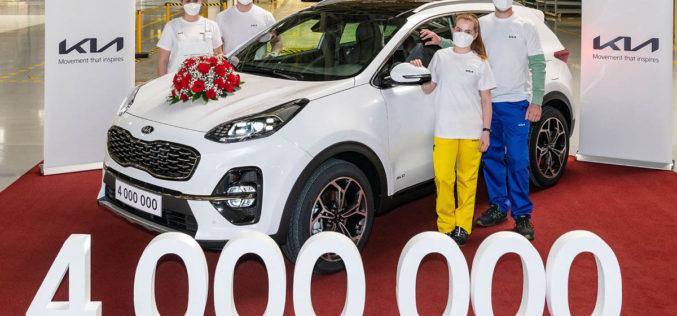 Kia u Evropi proizvela već 4 miliona vozila
