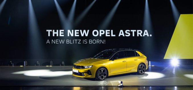 Svjetska premijera nove Opel Astre u Rüsselsheimu