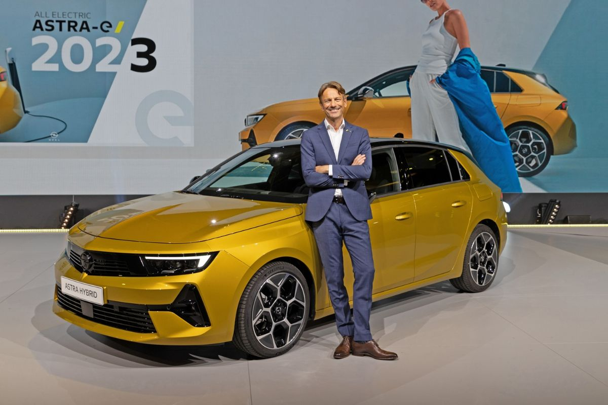 Nova Opel Astra 2021
