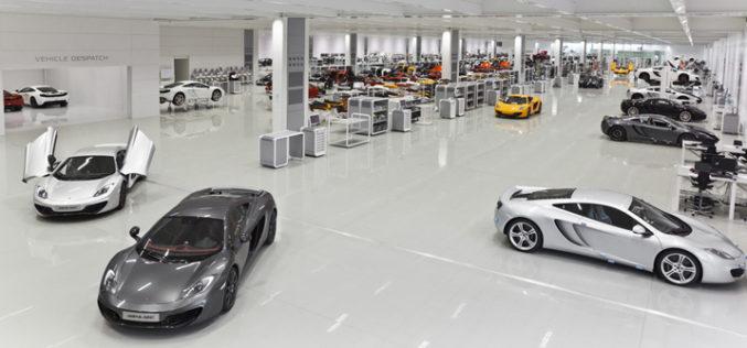 Auto Motive McLaren Production Center – Fabrika iz snova
