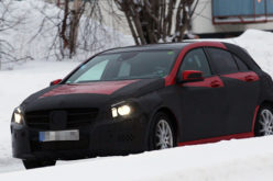 Mercedes A klasa III – Spy photo!