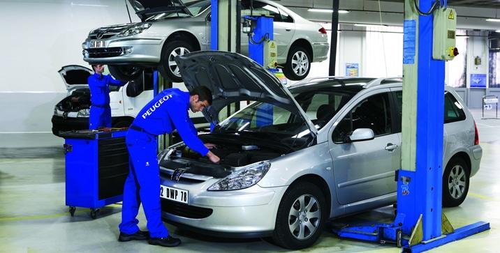 Peugeot servisiranje