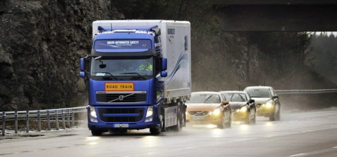 Volvo SARTRE sistem