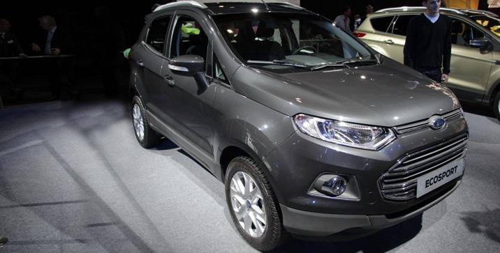Ford EcoSport Paris Motor Show 2012