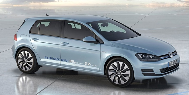 Volkswagen Golf BlueMotion Concept 2012
