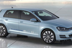 Volkswagen Golf BlueMotion Concept 2012.