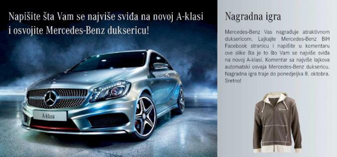 Facebook stranica Mercedes BH