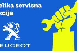 Peugeot servisna akcija