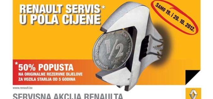 Renault servisna akcija