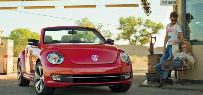 Volkswagen Beetle Cabriolet 2013.
