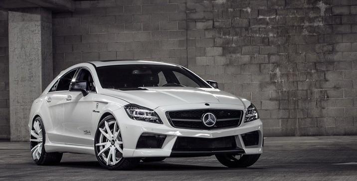 Mercedes CLS Misha Designs_