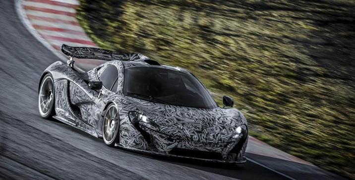 McLaren-P1-Testing