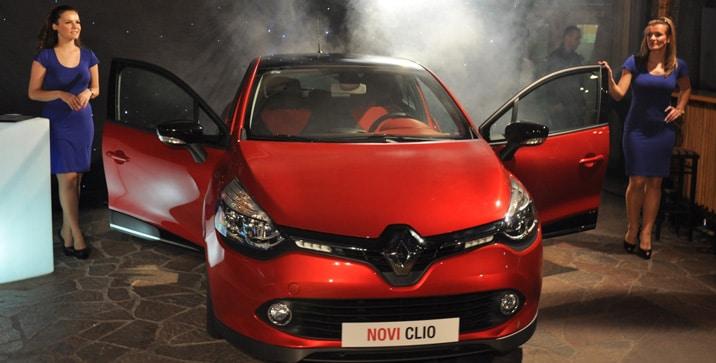 Auto godine Novi Renault Clio