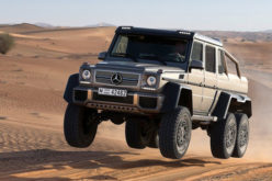 Video: Mercedes G63 AMG 6×6 – Pustinjska zvijer!