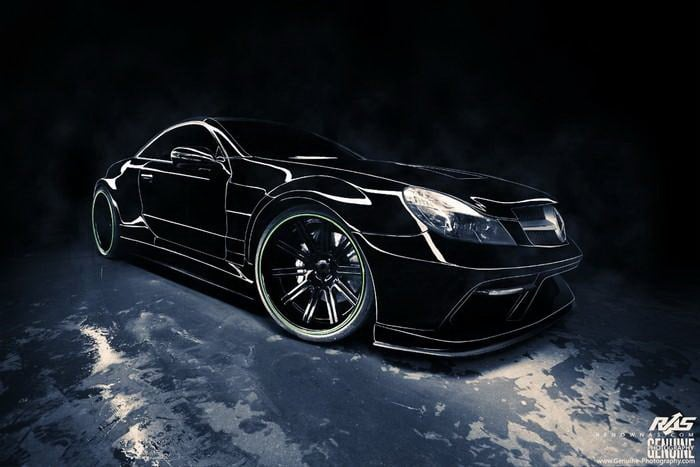 Mercedes-Benz SL-Class R230 by Renown Auto Style Front Right